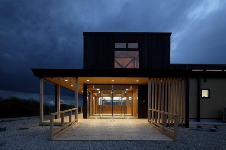 尼崎の森中央緑地公園管理棟建築工事